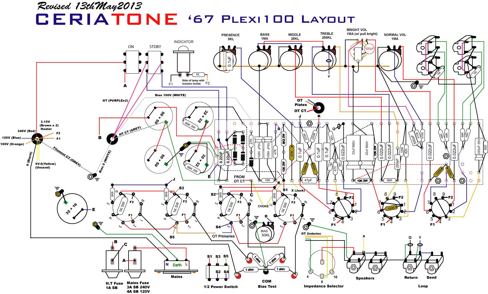 hight resolution of marshall plexi input jack wiring wiring diagram nameplexi project with issues please help marshall plexi