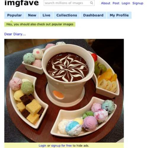 Sourcing Images or How I Learnt Good Dessert Is Too Far Away
