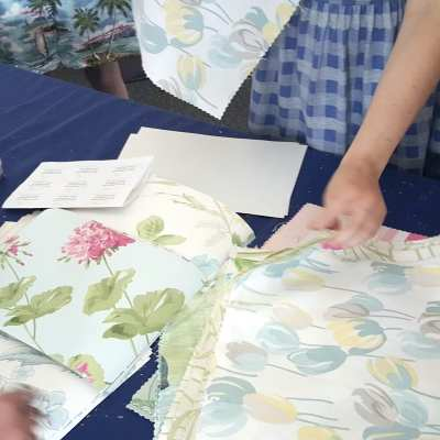 Crafting with Laura Ashley