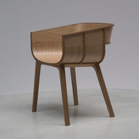 chaise design maritime casamania bois naturel