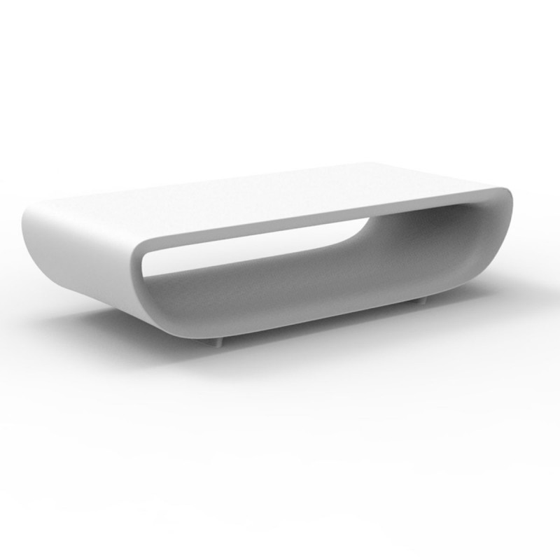 table basse bum bum vondom blanc mat