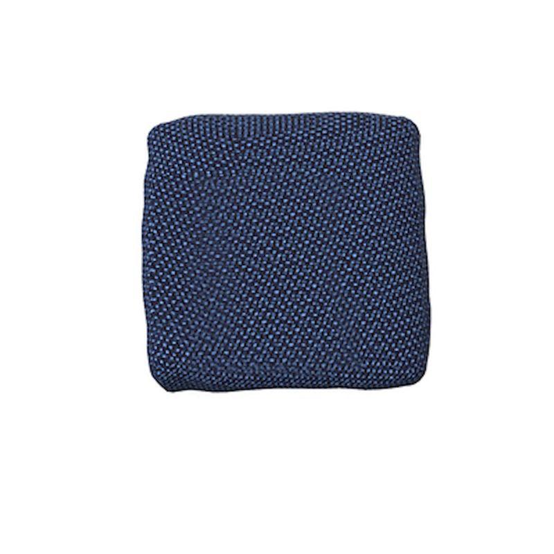 coussin exterieur deperlant suave 50x50cm vondom bleu outre mer 1002