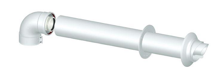 Tubo flessibile per scarico fumi caldaia  Installazione climatizzatore