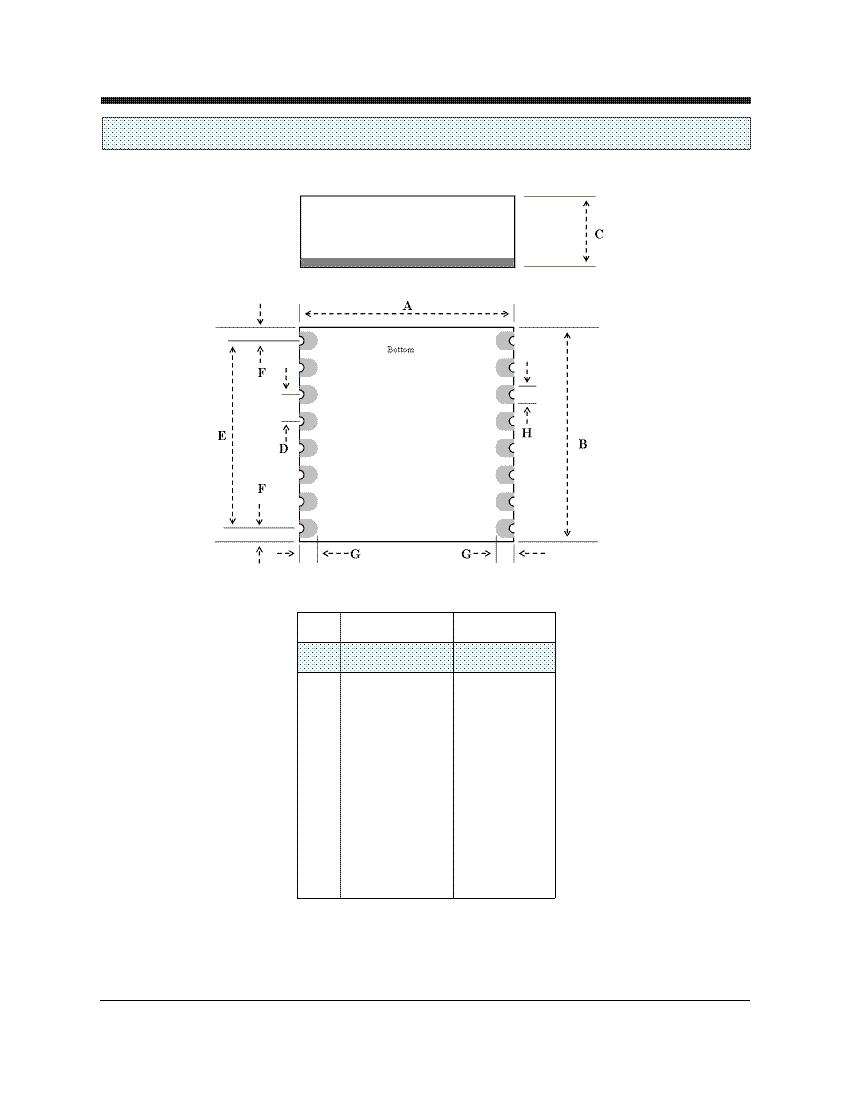 Datasheet for Cermetek product XE056LCC2