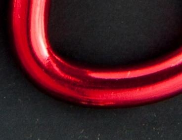 Moschettone Tondo in alluminio colorato