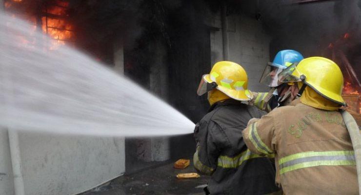 Características de la exposición de bomberos a sustancias tóxicas