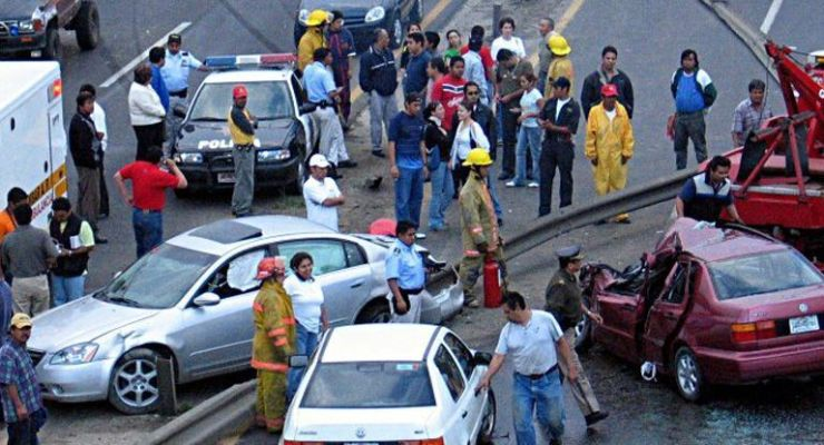 Accidentes de tránsito frenan desarrollo económico