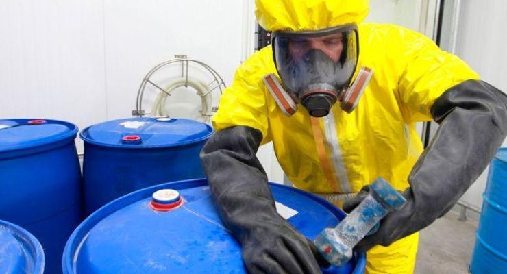 Propiedades y características de las sustancias químicas peligrosas