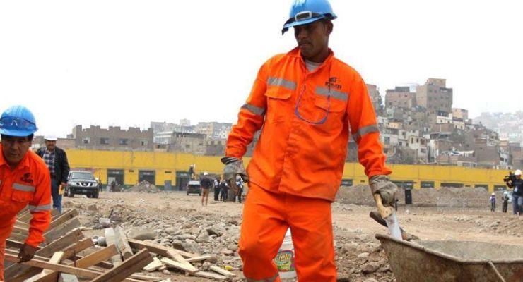 MTPE establecerá protocolos de vigilancia de la salud en trabajadores de construcción