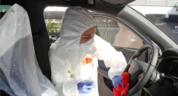 reducir exposición a COVID-19 en taller automotriz