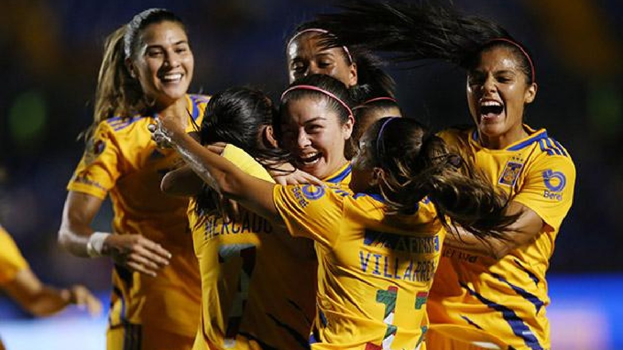 Tabla Liga MX Femenil tigres lider