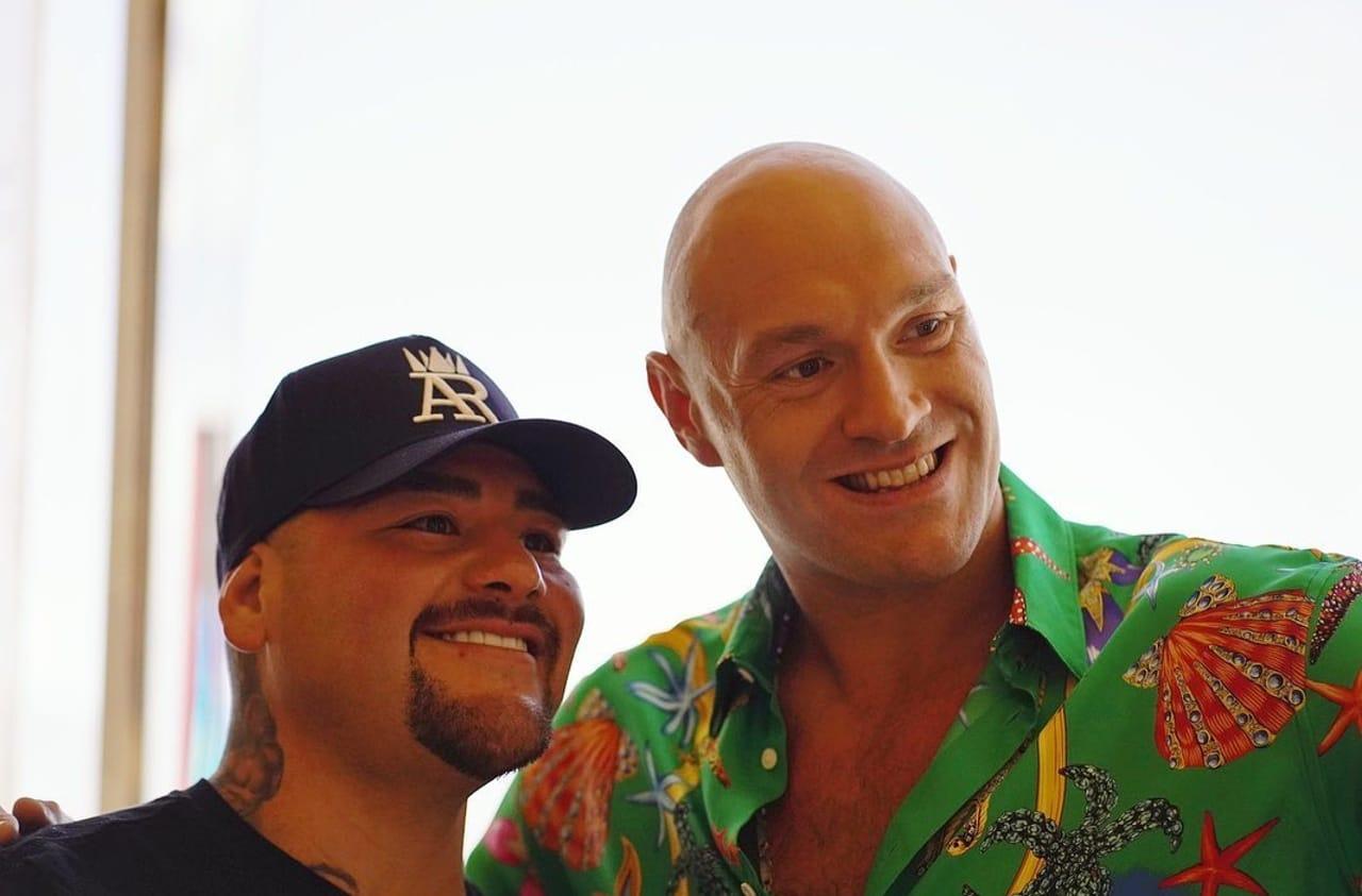 Andy Ruiz pelea Tyson Fury