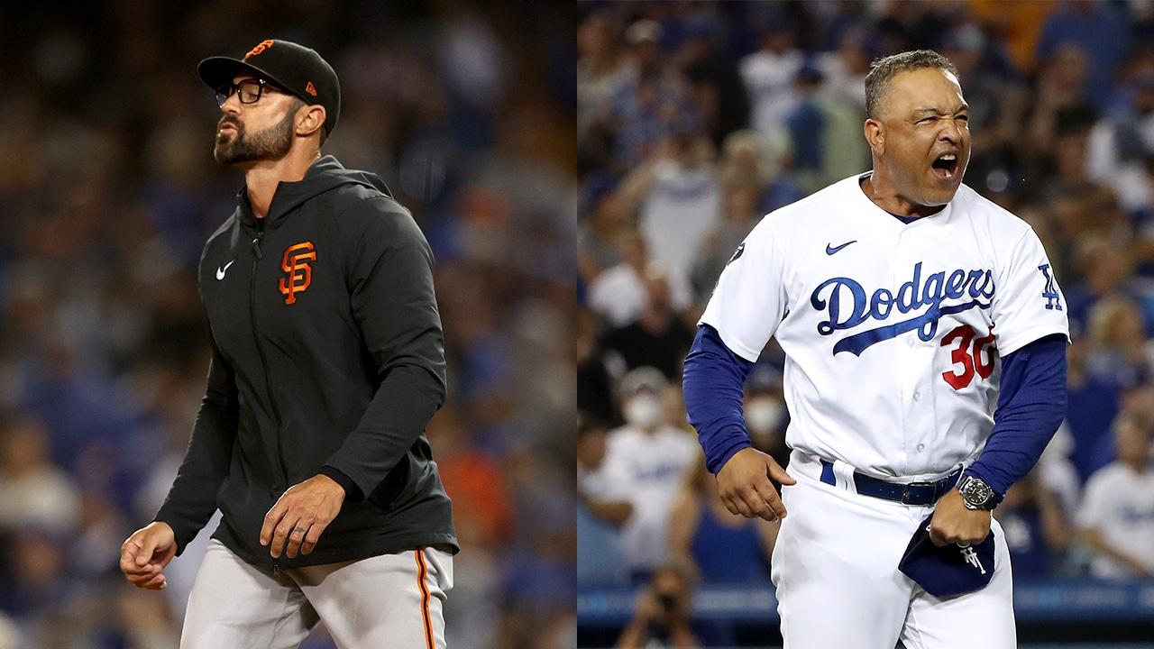 Dodger vs Gigantes playoffs