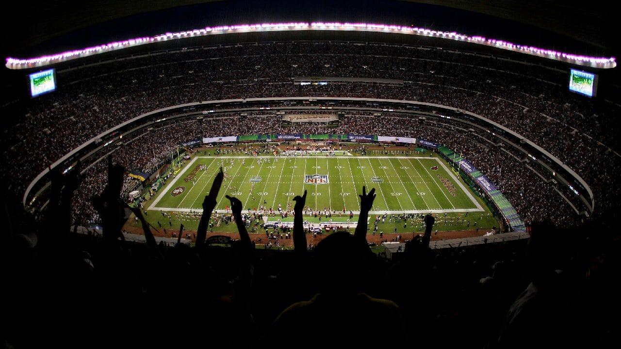 El Estadio Azteca ha albergado eventos como un partido de la NFL
