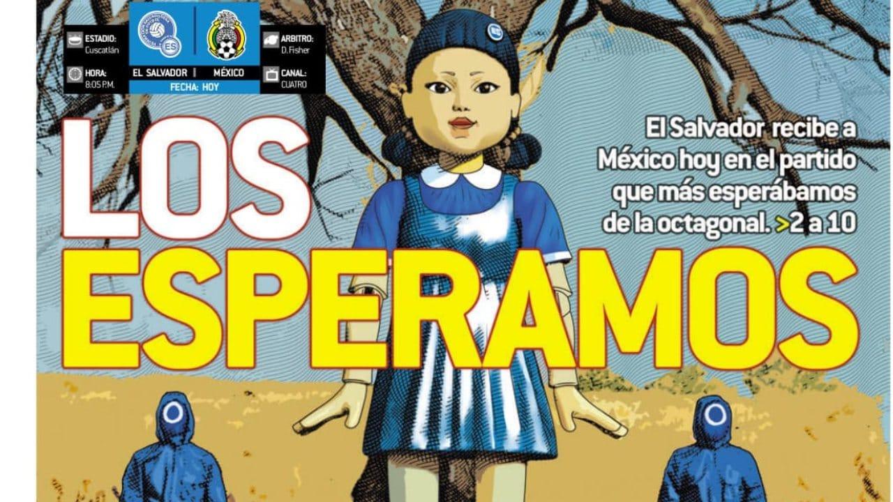 Selección Mexicana Juego del Calamar
