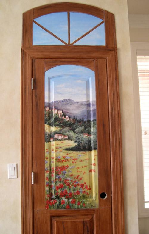 HandPainted Doors  Painting on Doors  Decorative Artist