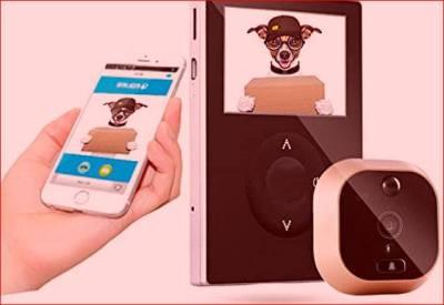 Que mirilla digital wifi electronica comprar