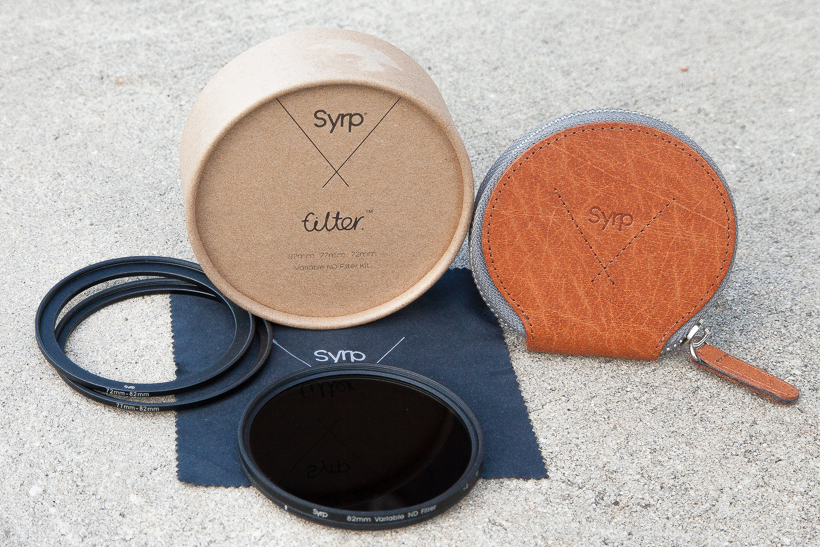 Syrp Variable Neutral Density Filter Review Photo
