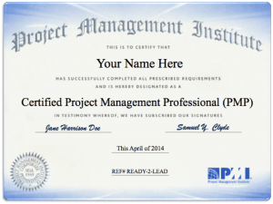 The New PMP 6th Edition Exam Update CertBlaster