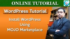Install WordPress Using Mojo Marketplace Thumb