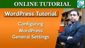 Configuring WordPress General Settings