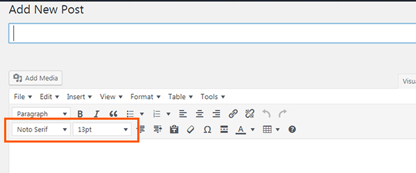 Adjust Font Size in TinyMCE Advanced
