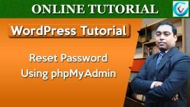 Reset WP Password phpMyAdmin