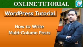 WordPress Write Multi-Column Posts