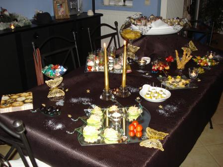 Buffet Dinatoire Du Rveillon Nouvel An Tout Simplement Nous