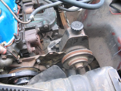small resolution of a big daddy steering bracket was chosen as the bracket that would attach the steering gear to the frame and the steering brace that was chosen was the