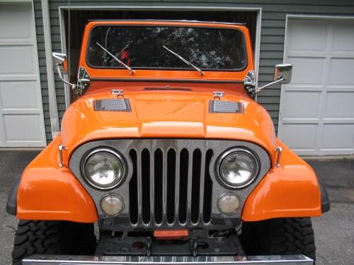 small resolution of jeep cj7 orange
