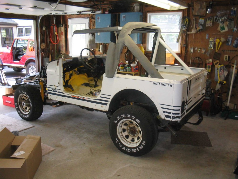 medium resolution of a far cry from this this was an islander yj see the little sun on the rocker
