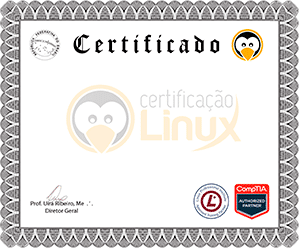 modelo Certificação Linux