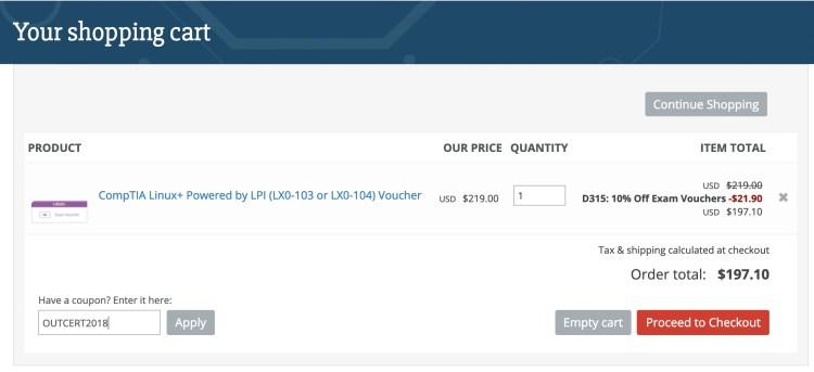 cupomdesconto Quanto custa uma prova da CompTIA Linux?