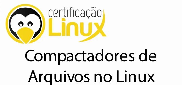 Compactadores de arquivos no Linux