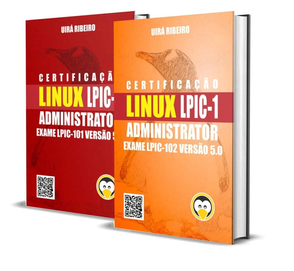 dois_livros_juntos Book Linux Certification for LPIC-1