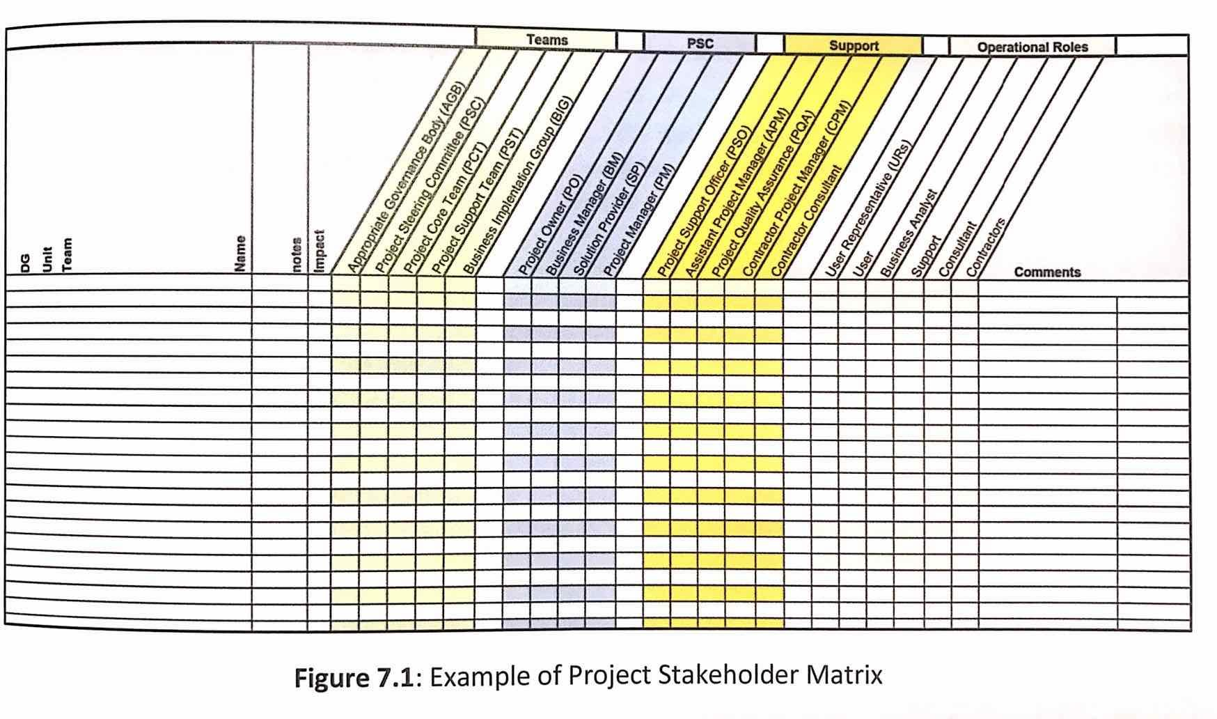 hight resolution of stakeholdermatrix pm2 pmp