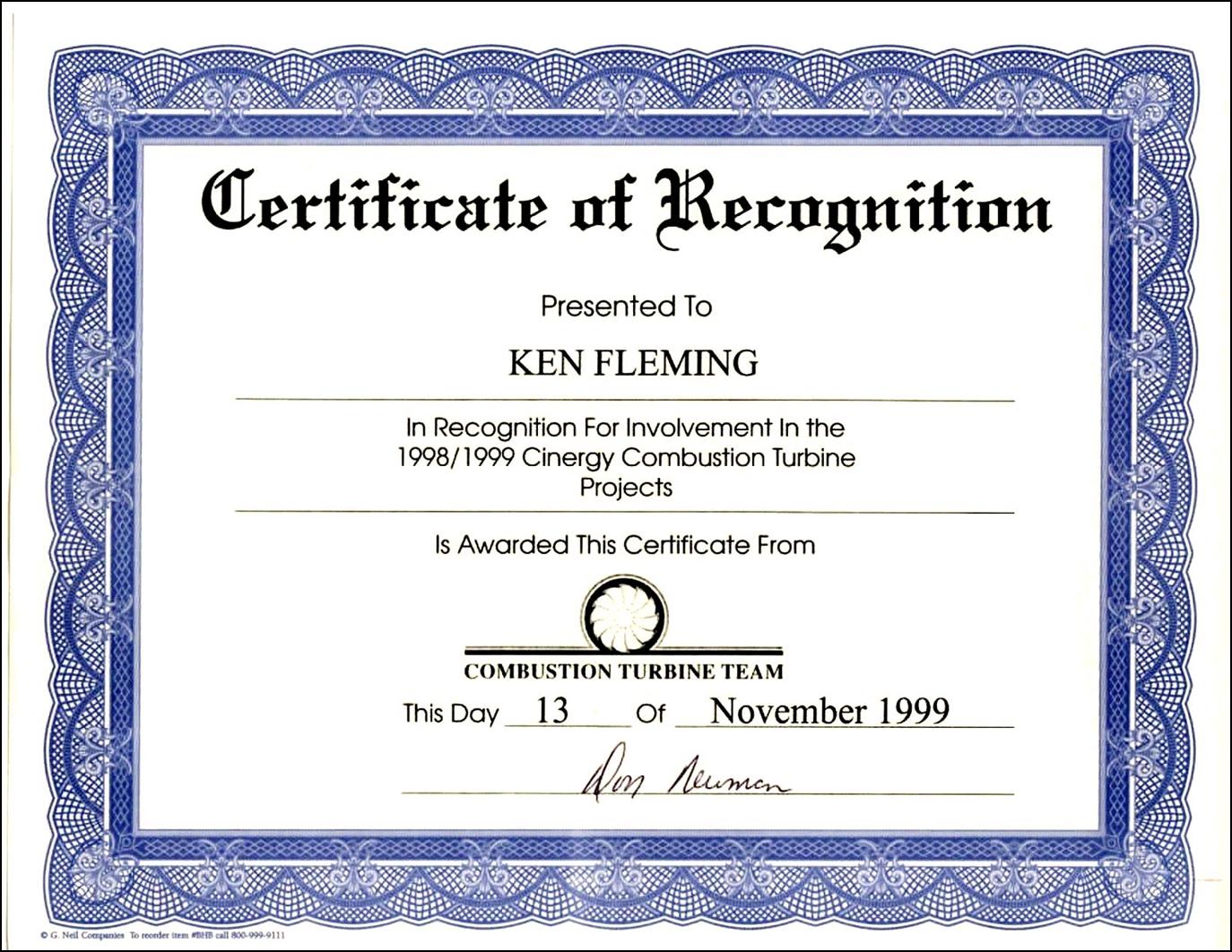 Certificate Wording  certificates templates free