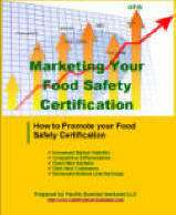 How to promote your food safety certification.