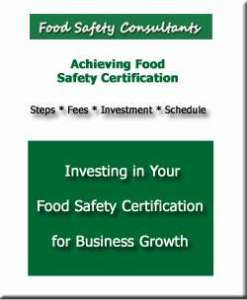 Free food safety assistance assistance and consultant introduction.