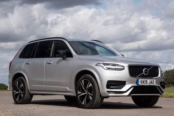 Volvo XC90 (2020) vue de face