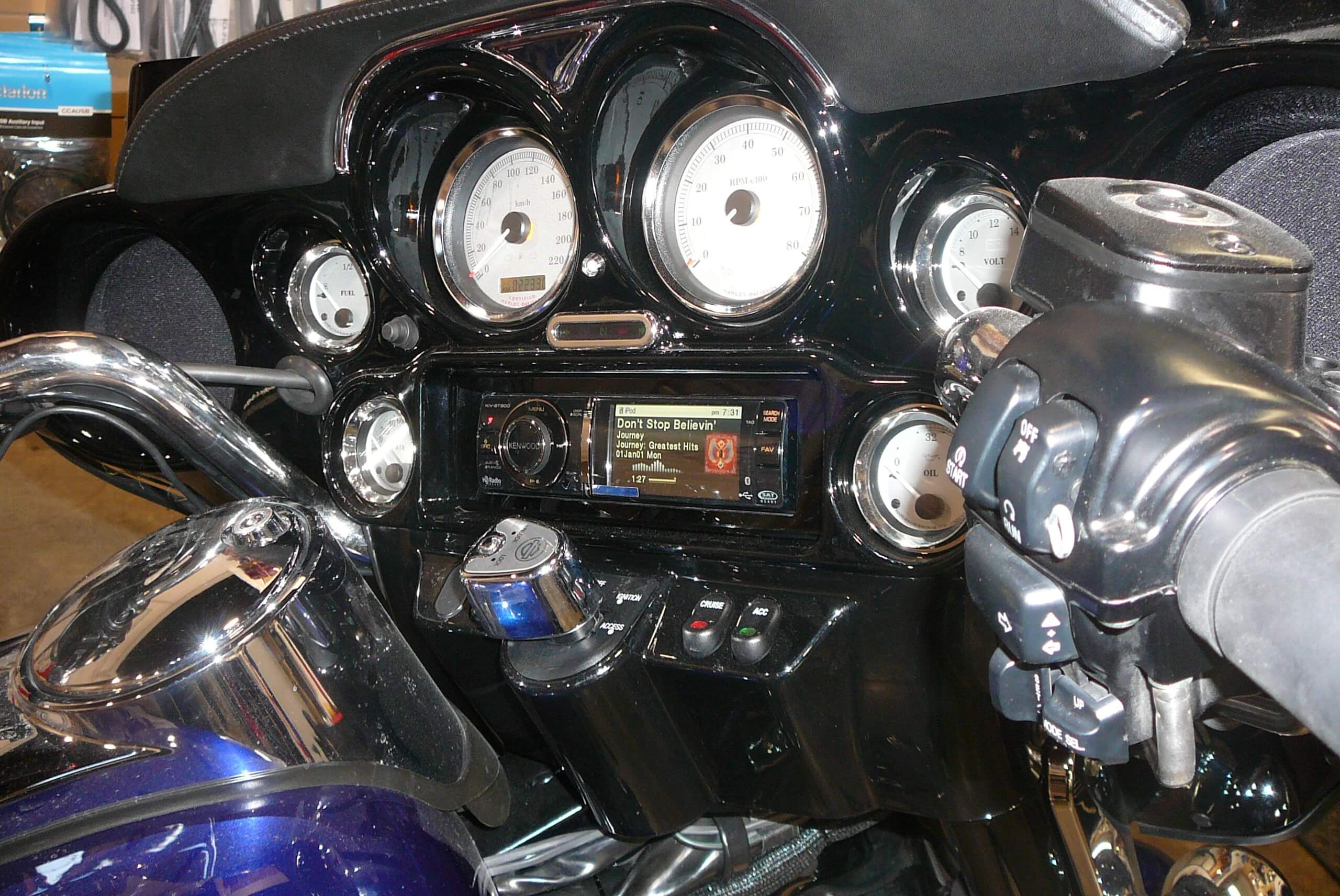 Motorcycle Stereo Upgrades & Speakers for Harley Baggers & more
