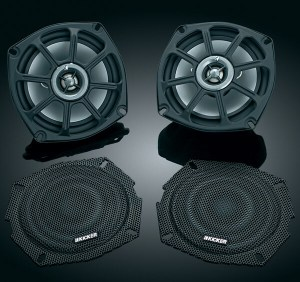 PS5250 by Kicker - Driven Audio Harley Speaker & Grill