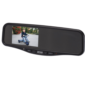 Rear view mirrors can display Backup Cameras Images