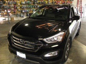 Aldergrove Client Gets Hyundai Santa Fe Backup Camera