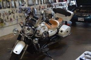 Moto Guzzi California Stereo Upgrade