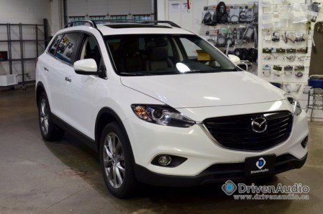 2016 Mazda Cx 9 Gets Rear Seat Entertainment Solution