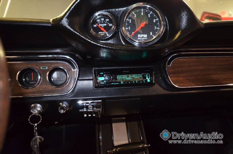 Ford Mustang Audio