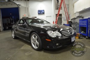 Mercedes Benz SL55 Radio