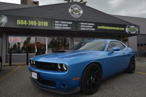 Dodge Challenger Audio Upgrade for Local Abbotsford Client